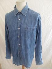 Chemise en jean Façonnable Bleu Taille XL à - 67%