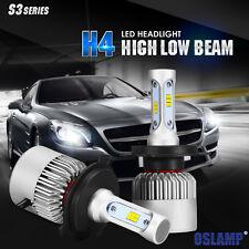 CREE H4 9003 HB2 520W Hi/Lo LED Headlights Lamp Bulbs Conversion Kits 6000K HID