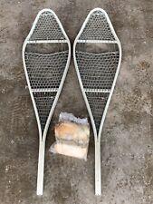 New listing Us Military Surplus Magnesium Snowshoes w/ Bindings Lightweight Universal