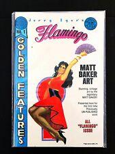FLAMINGO #1 BLACKTHORNE PUBLISHING 1986 VF