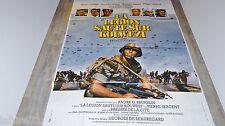 LA LEGION SAUTE SUR KOLWEZI legion etrangere  affiche cinema