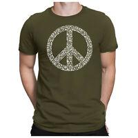 War Peace Love Herren Fun T-Shirt - Frieden Krieg Liebe - PAPAYANA