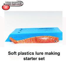 Soft Plastics Starter Set 12cm 3 STAMPO KIT Pike e pesca mare