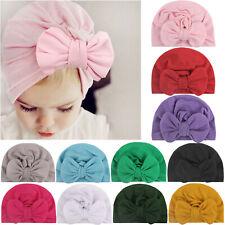 Baby Headband Bow Turban Hat Cap Headband Hair Band Headwear For Girls Kids SS