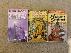 Shannara Series Volumes 1, 2 & 3 By Terry Brooks Paperback