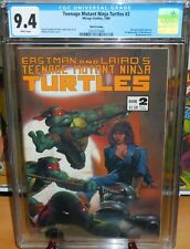 Teenage Mutant Ninja Turtles #2 Third Printing CGC 9.4 TMNT 1986 Mirage Studios