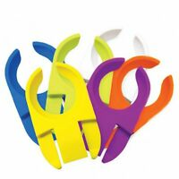 True Fabrications TrueTools Clipper Wine Glass Holder Plate Clip - Set of 6