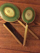 Vintage Vanity Dresser Set with Mirror