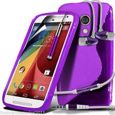 Fundas Para Motorola Moto G color principal morado para teléfonos móviles y PDAs