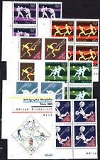 1964 Poland Polska Fi. 1366-1373 ** czwórki + x5 bl. 43 Olympic TOKYO