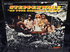 Steppenwolf At Your Birthday Party SEALED USA ORIG DIE-CUT 1969 LP W/ NO BARCODE