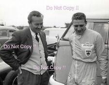 Colin Chapman & Trevor Taylor Lotus F1 Portrait Photograph
