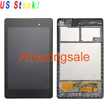 LCD Display Touch Screen Digitizer W/Frame For Asus Google Nexus 7 2nd 2013 WIFI