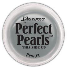 PEWTER Perfect Pearls Pigment Powder 1oz Jar - Ranger