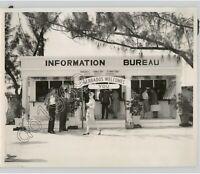 BARBADOS, CARIBBEAN Tourist Travel Information Bureau, Vintage 1950s Press Photo