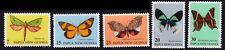 /PAPUA NEW GUINEA 1979 Butterflies 5v set MNH @S230