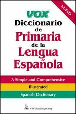 Vox Diccionario De Primaria De La Lengua Espanola-ExLibrary