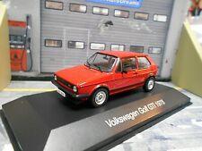 VW Volkswagen Golf GTI MKI 1978 rot red 3 Türer IXO Altaya SP 1:43