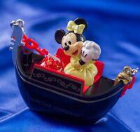 TDS Japan Tokyo Disney Sea Souvenir Snack Case Minnie Venetian Gondolas Figure
