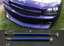"Blue 8""-11"" Strut Shock Rod Bar for Dodge Bumper Lip Diffuser Spoiler splitters"