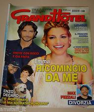 GRAND HOTEL 2013/38=EMMA MARRONE=MARCO BOCCI=RICCARDO FOGLI=ENZO DECARO=