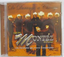 GRUPO MONTEZ DE DURANGO A CHICAGO CD - BRAND NEW