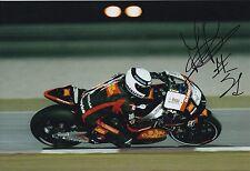 Michele Pirro firmato a mano SAN CARLO HONDA GRESINI 12x8 foto MOTOGP 3.