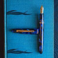 Esterbrook Estie Cobalt Blue & Gold Plated Trim Fountain Pen