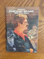 Chicago Bears Media Guide - 1982 - Mike Ditka Cover