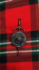 """TC New Scottish Kilt Pin Jet Balck 3.5""""/Celtic Kilt pin Black Finish/kilt Pins"""