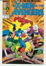 X-MEN VS. THE AVENGERS:LIMITED SERIES:  1-4  MARVEL  1987 NEAR MINT L-56