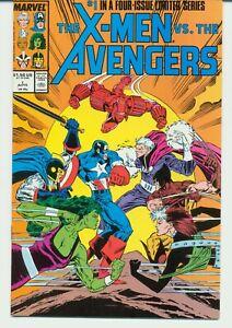 X-MEN VS. THE AVENGERS:LIMITED SERIES:  1-4  MARVEL  1987 NEAR MINT L-57
