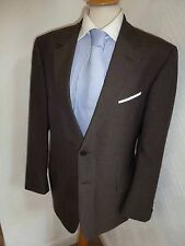 MENS PAUL SMITH WILLOUGHBY WORLD MAP WOOL SUMMER SUIT JACKET 40 WAIST 34 LEG 29