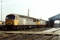PHOTO  CLASS 33 LOCO NO 33026 - 56038 - 56044 - 56070 AT HITHER GREEN DEPOT 1991