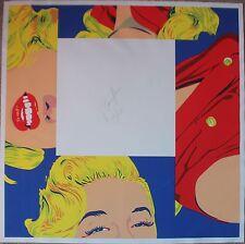 Sérigraphie S/N  de Bernard RANCILLAC figuration narrative Marilyn Monroe 1997
