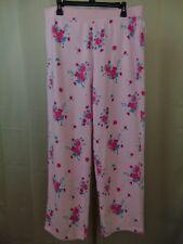 c2107fd7b4bf Charter Club Sleepwear, Knit Fleece Pajama Pants, Bouquet Floral Medium  #1394