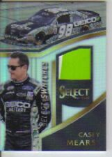2017 Panini Select Racing Swatches Casey Mears