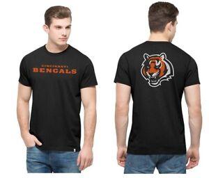 Cincinnati Bengals Men's '47 Brand Crosstown MVP T-Shirt - Black