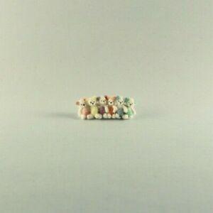 OOAK~Bears~Pastel Teddy~Baby Toys~Miniature~Artist Doll~Dollhouse~Cheryl Brown