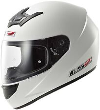 CASCO INTEGRALE FF352 ROOKIE SINGLE MONO BIANCO LS2 SIZE XS IN PROMO!!!!