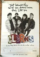 "1994 Clerks Movie Poster Original 27"" X 40"" Rare Vintage Kevin Smith Promo"