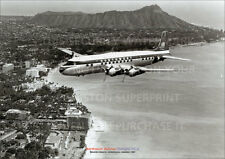 NORTHWEST AIRLINES DC-6 HONOLULU DC6 A3 POSTER PRINT PICTURE PHOTO IMAGE