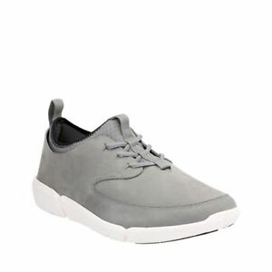 Clarks Men's Triflow Form Grey Nubuck Sporty Casual Shoes 26125948