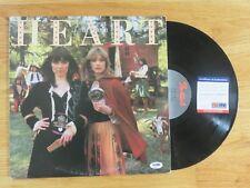 ANN WILSON of HEART signed 1977 LITTLE QUEEN Record Album PSA AD65183 Barracuda