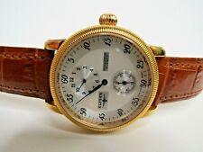 Elysee Automatic Regulator Watch Regulateur 80270 Rose Gold