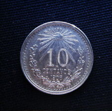 1906 MEXICO silver COIN 10 centavos UNC great quality