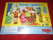 HABA® 4549 LernSpiel Gesagt - getan! NEU OVP