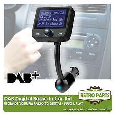 FM zu DAB Radio Wandler für Mercedes Saloon einfach Stereo Upgrade DIY