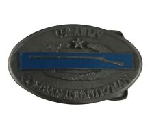 New listing Us Army Combat Infantryman Metal Belt Buckle With Star 1982 Heritage Buckles New