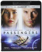 Los pasajeros (4K TB + Blu-ray 3D + Blu-ray) Nuevo Sellado De Fábrica, Envío Gratis